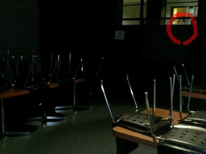Samuel Rosales nos compartió esta fotografía tomada en el comedor del Hospital de la Mujer en Morelia, Michoacán